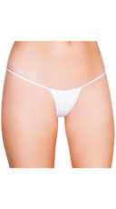 Mini G-String - White