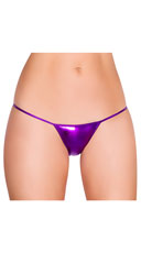 Metallic G-String - Purple