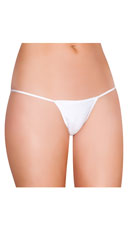 String Back G-String - White