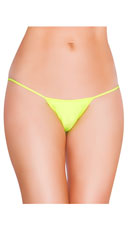 String Back G-String - Yellow