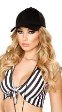 Baseball Style Hat - Black