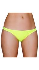 Half Back Panty - Yellow