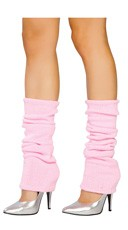 Solid Color Calf High Warmers - Baby Pink
