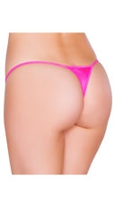 Low Cut Thong - Hot Pink