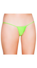 Low Cut Thong - Lime