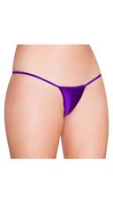 Low Cut Thong - Purple