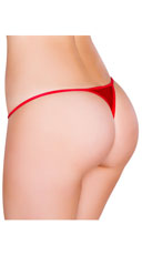 Low Cut Thong - Red