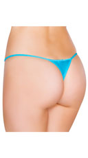 Low Cut Thong - Turquoise