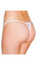 Low Cut Thong - White