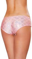 Iridescent Mermaid Shorts - Pink