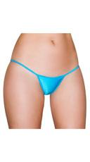Basic Lycra Thong - Turquoise