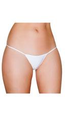 Basic Lycra Thong - White