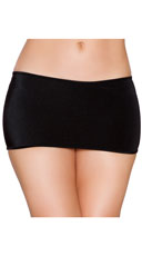 Micro Mini Skirt - Black