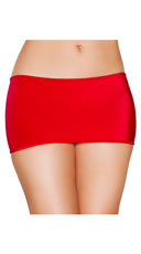 Micro Mini Skirt - Red