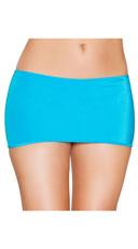 Micro Mini Skirt - Turquoise