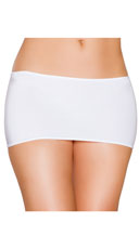 Micro Mini Skirt - White