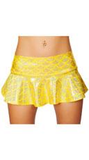 Flared Mermaid Skirt - Yellow