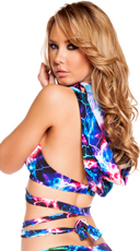 Electric Wrap Around Top with Attached Hood - Electric