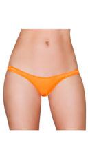 Wide Strap Thong - Orange