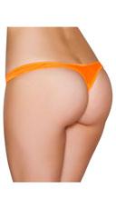 Wide Strap Basic Thong - Orange