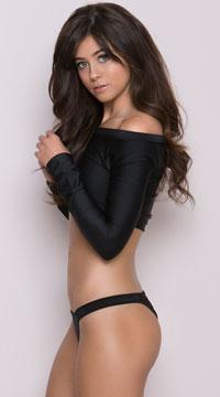 Half Back Panty - Black