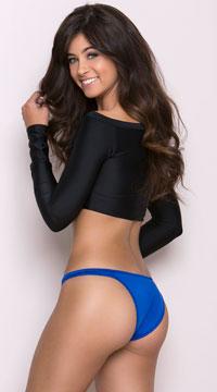 Half Back Panty - Blue