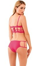 Cage Me Up Bra Top Set - as shown