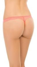 Peach Lace La La Thong