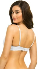 Yandy Get Kissed White Lace Bra - White