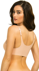 Yandy Smooth Things Over Sand Bra - Sand