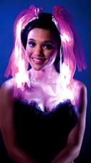 Illuminating Rave Headband - Pink