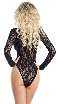 Lacy Teddy - as shown
