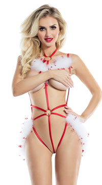 Dasher Cage Teddy - Red