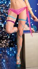 Jumbo Net Thigh Highs - as shown