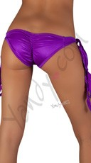 Ribbon Tie Side Panty - Purple