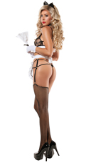 Strap Up Maid Lingerie Costume