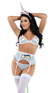 Unicorn Marvel Lingerie Costume - Multi