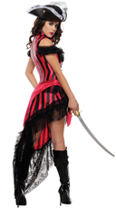 Deluxe Striped Pirate Costume