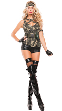 Sexy Special Forces Costume