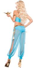 Sexy Blue Genie Costume
