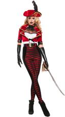 Deluxe Midnight Pirate Costume