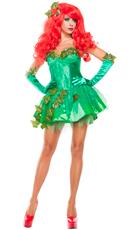 Ivy Seductress Costume - Green