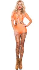 Jailbait Hottie Prisoner Costume