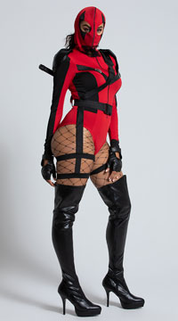 Sexy Dead Assassin Costume