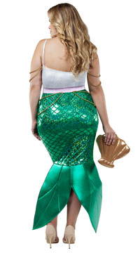 Plus Size Alluring Sea Siren Costume