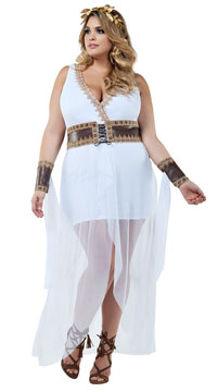 Plus Size Grecian Goddess Costume