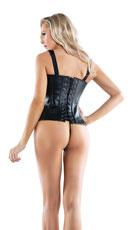 Buckle Me Up Corset - Black
