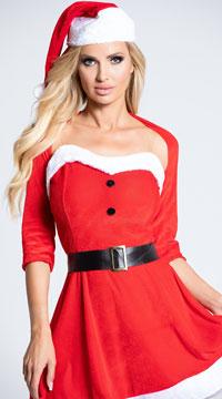 Santa Babe Costume - Red/White