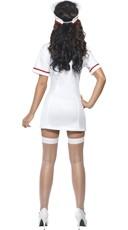 Sexy White Nurse Costume - White