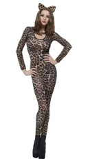 Cheetah Print Bodysuit - Cheetah Print